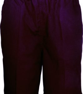 Coningsby Boys Poly Viscose Shorts - Maroon