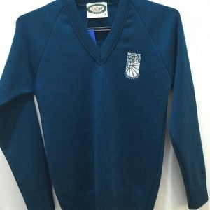 Mercy College Teal Pullover