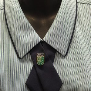 Mercy College Tie Pin