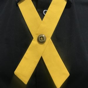 North High Cultural Tie - Yellow