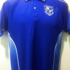North High Junior Polo - Blue Side Panel